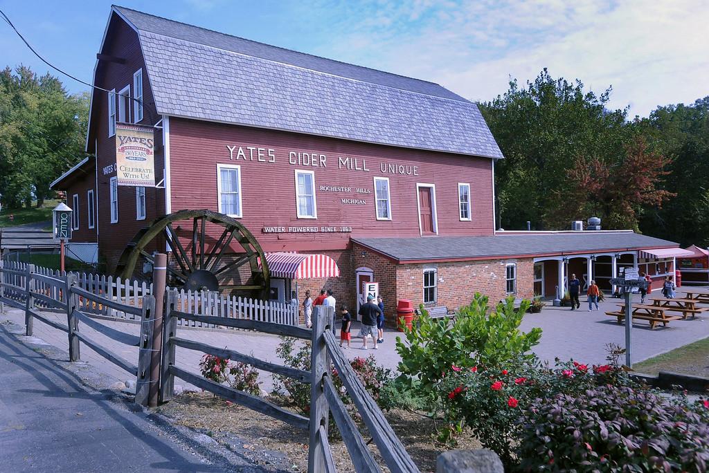 Description of . Yates Cider Mill. (The Macomb Daily/DAVID DALTON)