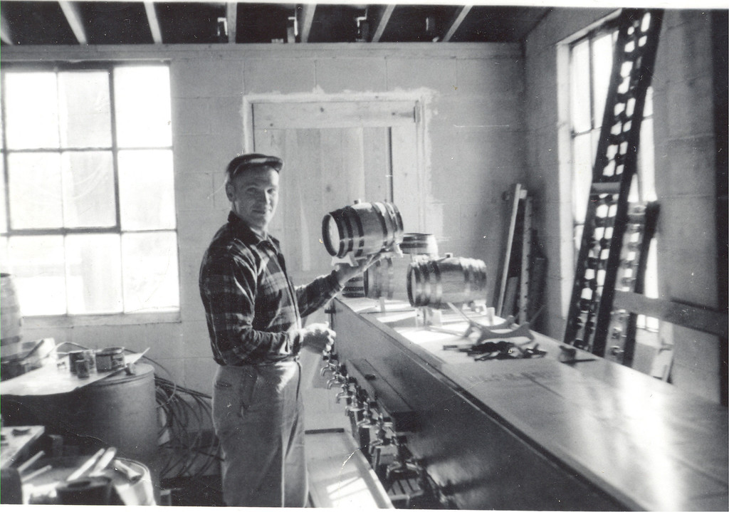 . Former Yates Cider Mill owner Charles Posey poses for a picture inside the mill. (Photos courtesy of Yates Cider Mill)